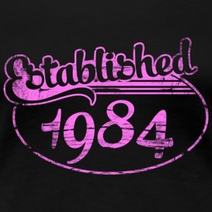 established 1984 dd (uk) T-Shirts - Women's Premium T-Shirt