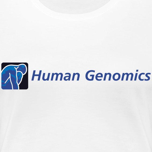 women's t-shirt human genomics