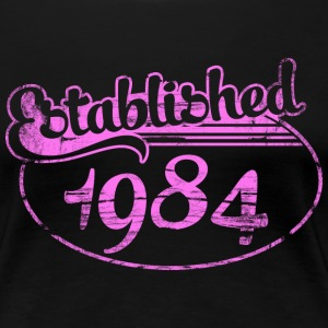 Geburtstag - established 1984 dd (de) T-Shirts - Frauen Premium T-Shirt