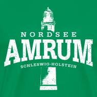 Motiv ~ Amrum Nordsee (weiss oldstyle)