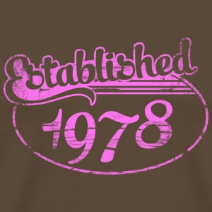 established 1978 dd (fr) Tee shirts - T-shirt Premium Homme