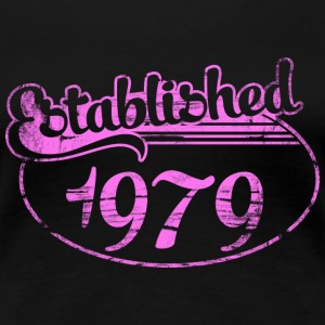 Geburtstag - established 1979 dd (de) T-Shirts - Frauen Premium T-Shirt