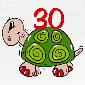 Turtle thirtieth birthday - 30 T-Shirts - Women's Premium T-Shirt