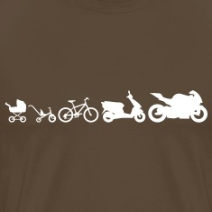 Motorcycle Evolution T-Shirts
