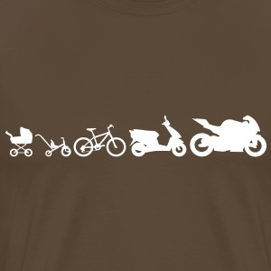 Motorcycle Evolution T-Shirts - Men's Premium T-Shirt