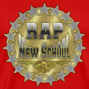 rap new school T-Shirts - Men's Premium T-Shirt