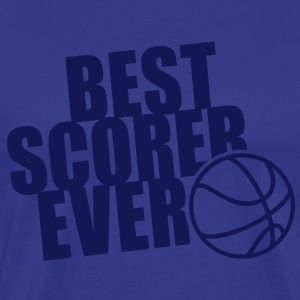 BEST BASKETBALL SCORER EVER T-Shirt NS - Mannen Premium T-shirt