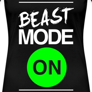 Beast Mode On | Womens T-shirt - Women's Premium T-Shirt