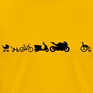 Motorrad Evolution - Men's Premium T-Shirt