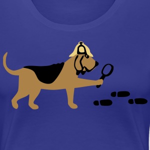 Search-and-rescue dog T-shirts - Premium-T-shirt dam