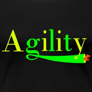 Agility tunnel T-Shirts - Women's Premium T-Shirt