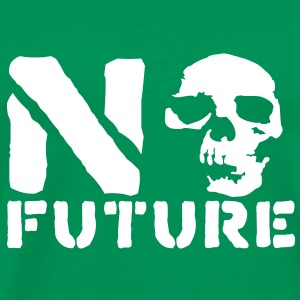 No Future__V007 T-shirts - Mannen Premium T-shirt