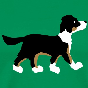 dog gingi T-shirts - Herre premium T-shirt
