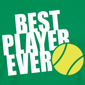 BEST TENNIS PLAYER EVER 2C T-Shirt WG - Men's Premium T-Shirt