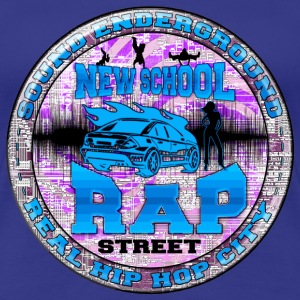 new school rap street T-Shirts - Women's Premium T-Shirt
