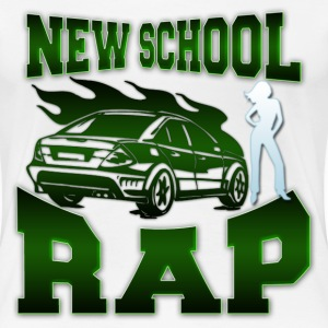 new school rap T-Shirts - Women's Premium T-Shirt