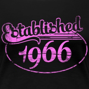 established 1966 dd (uk) T-Shirts - Women's Premium T-Shirt