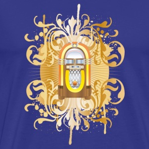jukebox T-shirts - Mannen Premium T-shirt