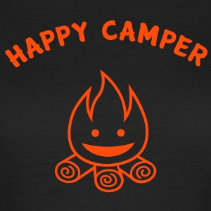 Happy Camper T-shirt T-Shirts - Women's T-Shirt