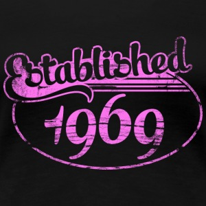 established 1969 dd (sv) T-shirts - Premium-T-shirt dam