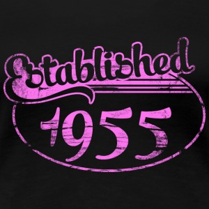 established 1955 dd (fr) Tee shirts - T-shirt Premium Femme