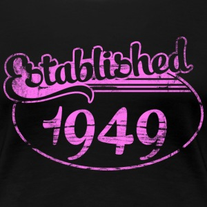 established 1949 dd (es) Camisetas - Camiseta premium mujer