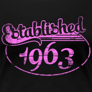 established 1963 dd (sv) T-shirts - Premium-T-shirt dam