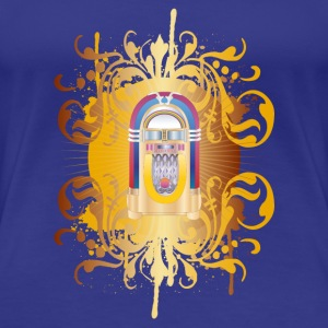 jukebox T-shirts - Premium-T-shirt dam