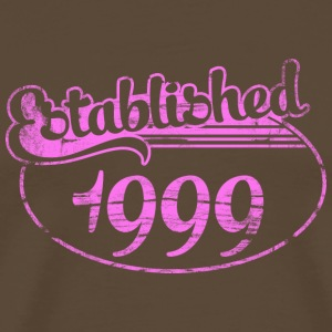 established_1999_dd (es) Camisetas - Camiseta premium hombre