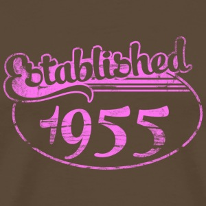 established 1955 dd (sv) T-shirts - Premium-T-shirt herr