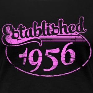 established 1956 dd (es) Camisetas - Camiseta premium mujer