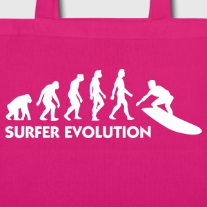 Jeans blue Evolution of Surfing 3 (1c) Bags  - EarthPositive Tote Bag