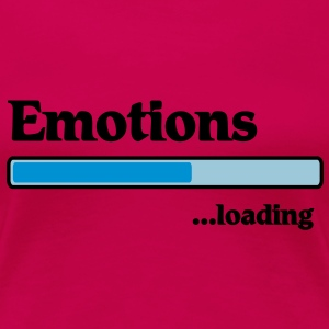 emotions loading... T-skjorter - Premium T-skjorte for kvinner
