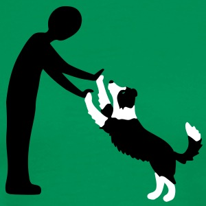 Dog Dancing 3-4 T-Shirts - Men's Premium T-Shirt
