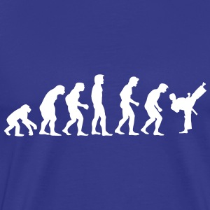 kickboxing_evolution T-shirts - Mannen Premium T-shirt