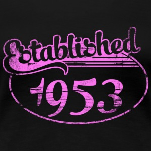 established 1953 dd (sv) T-shirts - Premium-T-shirt dam