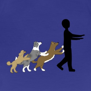 Dog Dancing 5 T-Shirts - Frauen Premium T-Shirt