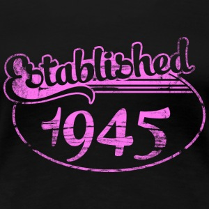 established 1945 dd (sv) T-shirts - Premium-T-shirt dam