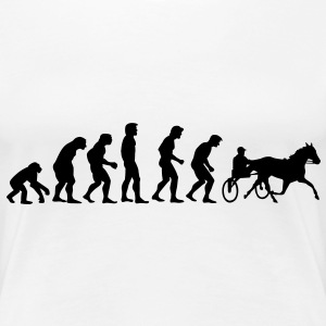 horse racing evolution T-shirts - Premium-T-shirt dam