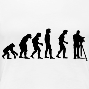 cinematographer evolution T-shirts - Vrouwen Premium T-shirt