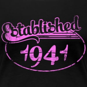 established 1941 dd (es) Camisetas - Camiseta premium mujer