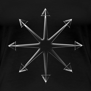 Chaos Star Glass (Shatter Reality) T-Shirts - Women's Premium T-Shirt