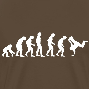 breakdance_evolution T-shirt - Maglietta Premium da uomo