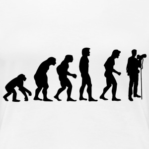 photographer evolution T-shirts - Vrouwen Premium T-shirt