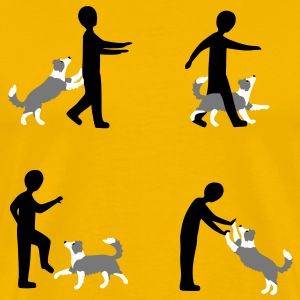 Dog Dancing 3-1 T-Shirts - Men's Premium T-Shirt