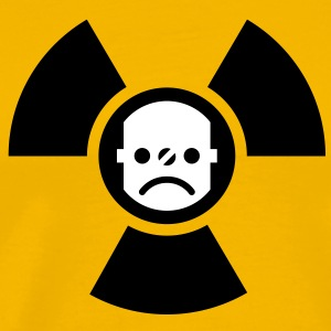 Atomstrom nein danke | against nuclear electricity | smiley T-Shirts - Mannen Premium T-shirt