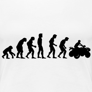 quad_evolution T-shirts - Vrouwen Premium T-shirt