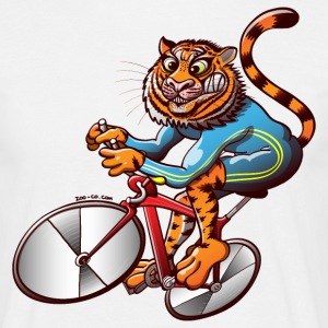 Olympic Cycling Tiger T-Shirts - Men's T-Shirt