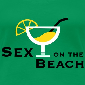 Sex on the Beach - mit oder ohne Cocktail - Frauen Premium T-Shirt