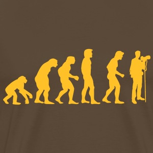 photographer evolution T-Shirts - Men's Premium T-Shirt